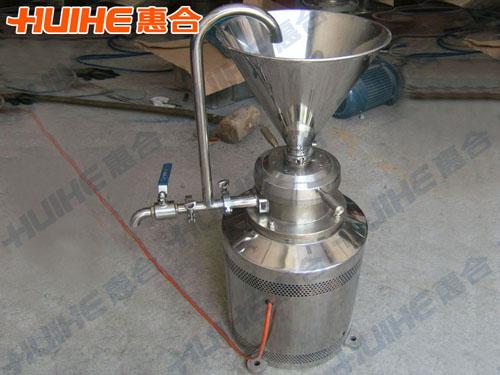 杭州某工贸有限公司已购买1台 JML-120立式胶体磨