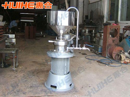 福州某生物技术有限公司购买1台 JMLB-80立式胶体磨