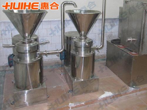 贵州某食品公司已购买1台――JMFB-120胶体磨