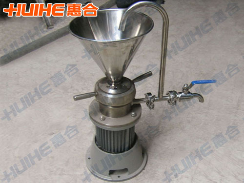 浙江湖州某饮料食品公司已购买1台 JMLB-50立式胶体磨