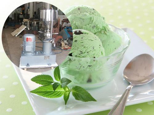 胶体磨磨冰淇淋―饮料行业中的应用