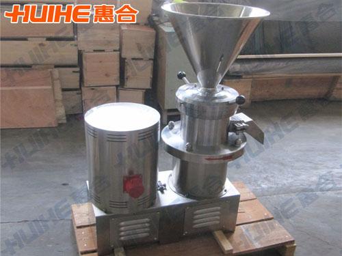 山东潍坊某饮料食品公司已购买1台 JMFB-120分体式胶体磨