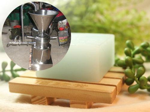 胶体磨磨肥皂―化工行业中的应用