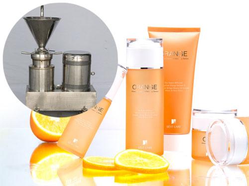 胶体磨研磨高级化妆品―日用化工行业中的应用
