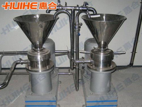 上海某仪器公司已购买1台 JMFB-80分体式胶体磨