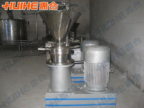 浙江金华某研究所购买一台分体式胶体磨