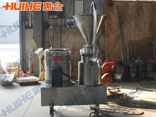 江苏徐州某豆制品加工厂购一台胶体磨