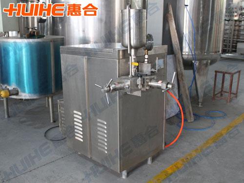 重庆某饮品公司购一台高压均质机