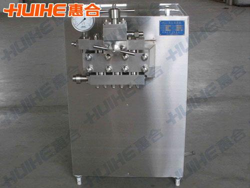 广东某生物科技公司购均质机一台