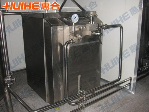 陕西咸阳某乳品公司购均质机一台