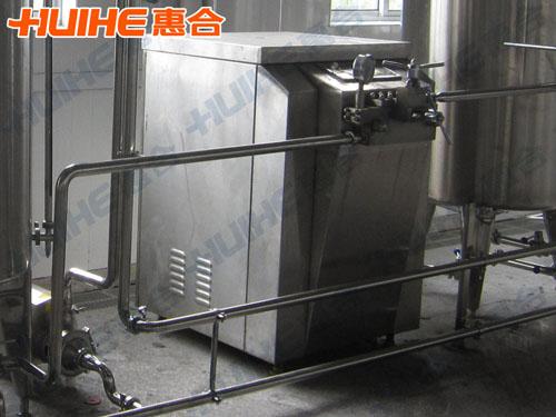 深圳某乳品厂购高压均质机一台