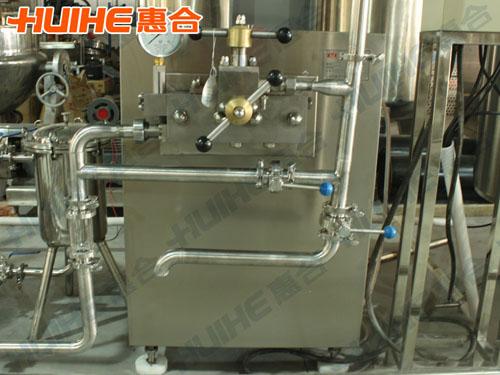 陕西西安某乳品厂购均质机一台