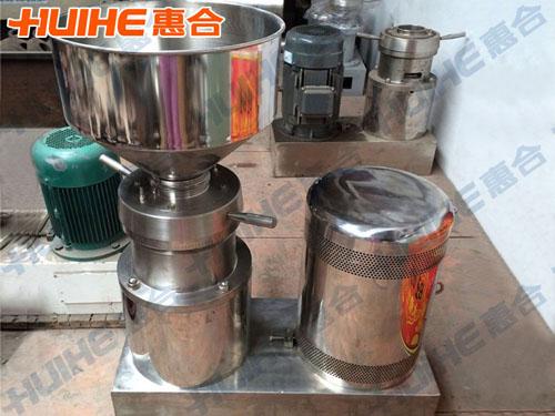 江苏苏州某食品公司购分体式胶体磨一台