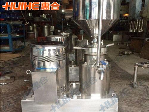 安徽六安某工业公司购分体式胶体磨一台