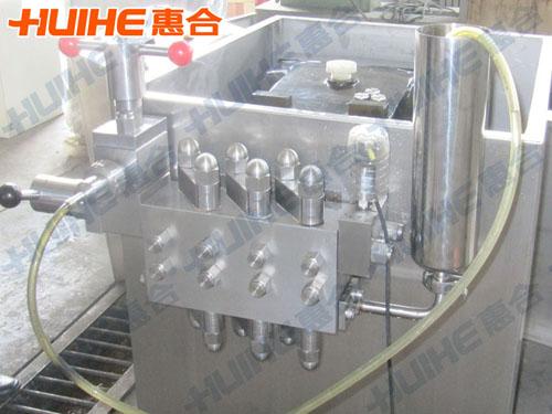 杭州某护肤品生产厂家购均质机一台