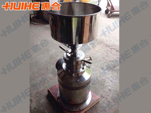 安徽省某餐饮管理有限公司购买一台JMLB-100胶体磨