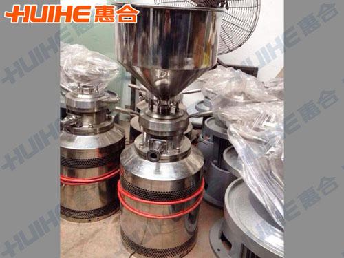 吉林省桦甸市某食品有限公司购买一台不锈钢胶体磨
