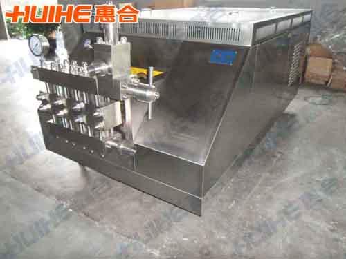 上海某食品有限公司购买一台大型高压均质机