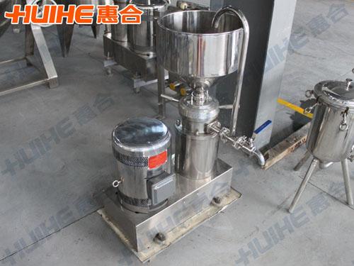 杭州某食品有限公司购买一台卧式胶体磨