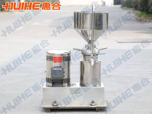 湖南省邵阳市某食品厂购买一台不锈钢卧式胶体磨
