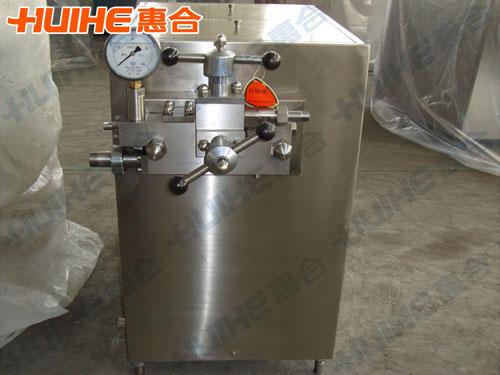 江苏常州某食品有限公司购买一台高压均质机