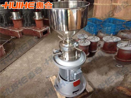 浙江衢州某餐饮有限公司购买一台一体式胶体磨
