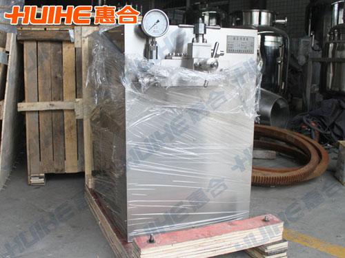 山东济南某食品厂购买一台高压均质机