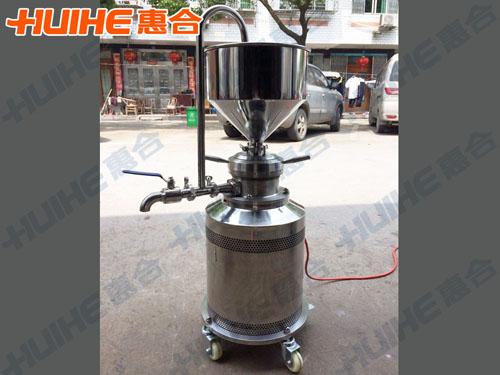台州某食品有限公司购买一台立式胶体磨