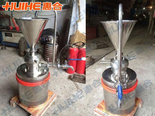 重庆某食品厂购买一台立式胶体磨