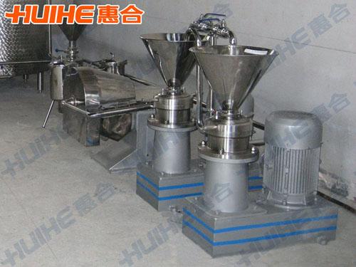 武汉某食品厂购买胶体磨一台