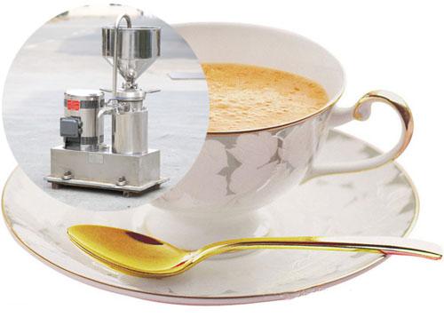 胶体磨加工发芽大豆燕麦乳―食品行业中的应用