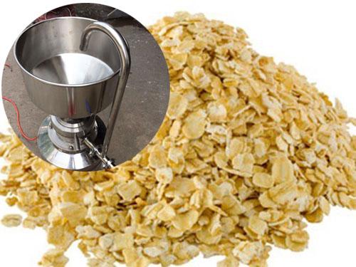 胶体磨加工大麦营养芽原麦片―食品行业中的应用