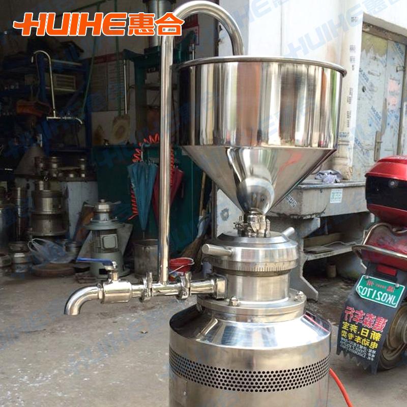 成都试验胶体磨 不锈钢胶体磨 立式胶体磨 分体式胶体磨JM-LB200